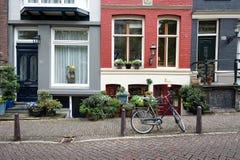De straatscène van Amsterdam Royalty-vrije Stock Foto's
