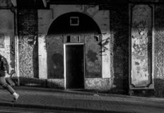 De straatscène van Brighton royalty-vrije stock foto's