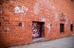 De straatscène van Grunge Royalty-vrije Stock Fotografie