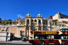 De straattoeristische attractie van Boedapest Stock Fotografie