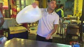 De straatvoedsel van Taipeh stock footage