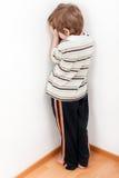 De straf van het kind Royalty-vrije Stock Afbeeldingen