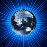 De Stralen D van de disco Royalty-vrije Stock Afbeelding