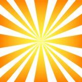 De stralen van de zon Stock Foto's