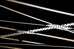 De stralen van het staal Stock Foto