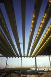 De Stralen van het staal Royalty-vrije Stock Afbeeldingen