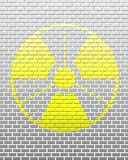 De straling van de baksteen Royalty-vrije Stock Fotografie