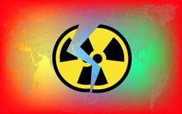 De straling van het gevaar Royalty-vrije Stock Fotografie