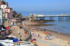 De strandboulevard van Cromer. Royalty-vrije Stock Afbeeldingen