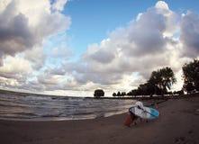De Stranden van Cleveland stock foto