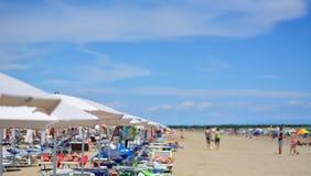 De stranden van het Adriatische Overzees royalty-vrije stock fotografie