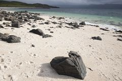 De Stranden van het koraal, Waternish Stock Foto's