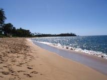 De Stranden van Kaanapali Stock Afbeeldingen