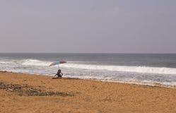 De stranden van Veli in India-3 royalty-vrije stock foto