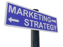 De Strategie van de marketing vector illustratie
