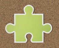 De strategiepictogram van het puzzelstuk Royalty-vrije Stock Foto's
