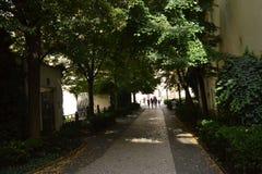 De straten ‹â€ ‹van de de architectuurstad †van de stad Stock Foto