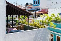 De straten en de architectuur van Puerto Rico royalty-vrije stock foto's
