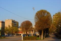 De straten van Alma Ata Royalty-vrije Stock Fotografie