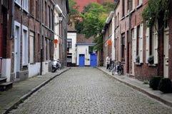 Straten van Brugge, België Royalty-vrije Stock Afbeelding