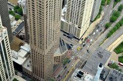 De Straten van Chicago Royalty-vrije Stock Fotografie