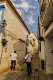 De straten van Cordoba - Spanje stock afbeelding
