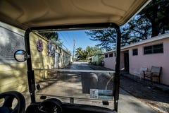 De straten van de Biminibahamas Royalty-vrije Stock Foto's
