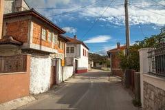 De straten van de oude stad Royalty-vrije Stock Foto