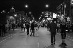 De straten van de stad royalty-vrije stock foto