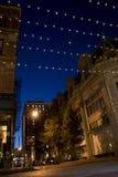 De Straten van de Stad van de voorzienigheid stock foto's