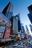 De straten van de Stad van New York stock afbeeldingen