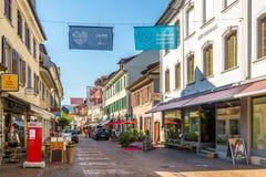 In de straten van Frauenfeld Royalty-vrije Stock Afbeeldingen