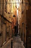 De straten van Genua Stock Fotografie
