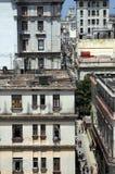 De straten van Havana Stock Foto