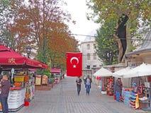 De Straten van Istanboel Royalty-vrije Stock Afbeelding