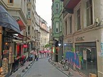 De Straten van Istanboel Stock Foto's