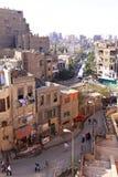 De straten van Kaïro Stock Afbeeldingen