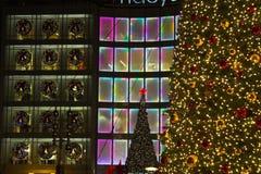 De straten van Kerstmis Stock Afbeelding