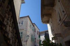 De straten van Kotor Royalty-vrije Stock Foto