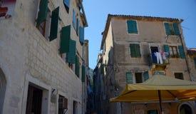 De straten van Kotor Royalty-vrije Stock Fotografie