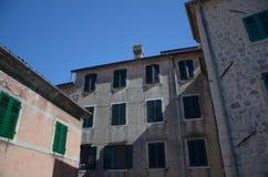 De straten van Kotor Royalty-vrije Stock Afbeeldingen