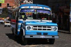In de straten van La Paz Royalty-vrije Stock Foto's