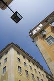 De straten van Lissabon Stock Afbeeldingen
