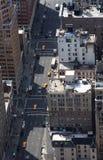 De Straten van Manhattan Royalty-vrije Stock Afbeeldingen