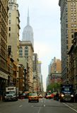 De straten van New York stock afbeeldingen