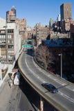 De straten van New York Royalty-vrije Stock Foto's
