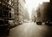 De straten van New York Royalty-vrije Stock Afbeelding