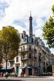 De straten van Parijs Stock Fotografie