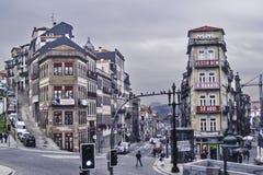 De straten van Porto Royalty-vrije Stock Foto's