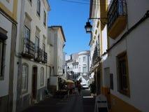 De straten van Portugal Stock Afbeeldingen
